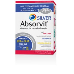 Absorvit Silver 30comps+30cáps