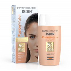Fotoprotector ISDIN FusionWater Color Spf50+ 50ml