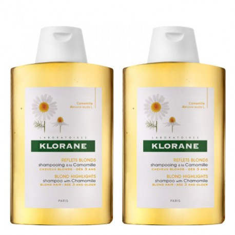 Klorane Camomila Pack Duo Champô 2x400ml